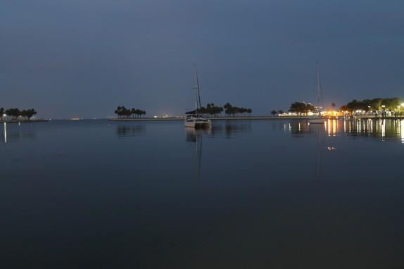 Foxtrot at twilight.