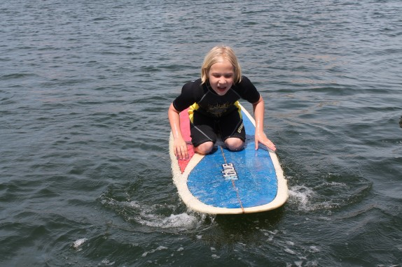 Doesn't she look like a surfer?