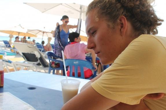 Pina Colado one the beach