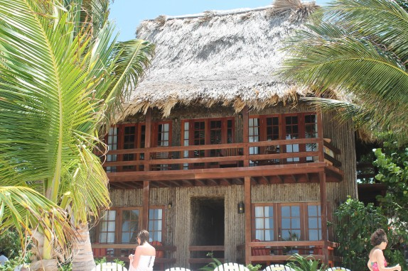 We love Belize dwellings. The bamboo was left with a rough husk on which looked really cool.