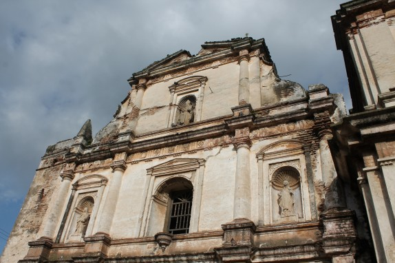 Antigua is famous for it ruins many of which are Spanish Colonial cathedrals.