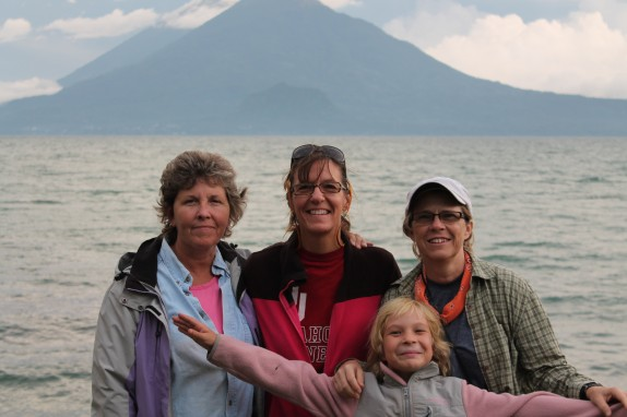 Waterfront stroll at Lake Atitlan