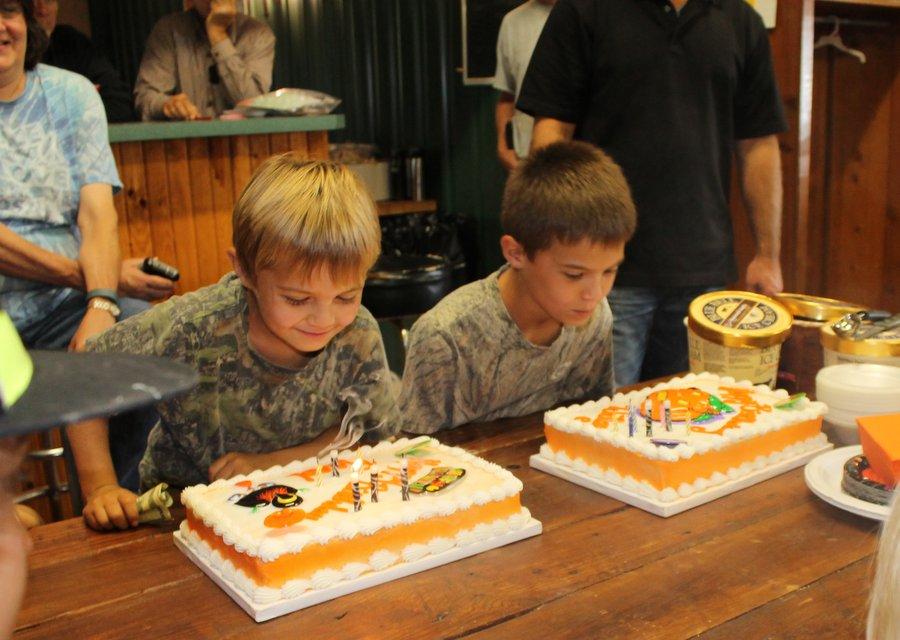 Wiley and Reed's Birthday at Buffalo Creek Lodge