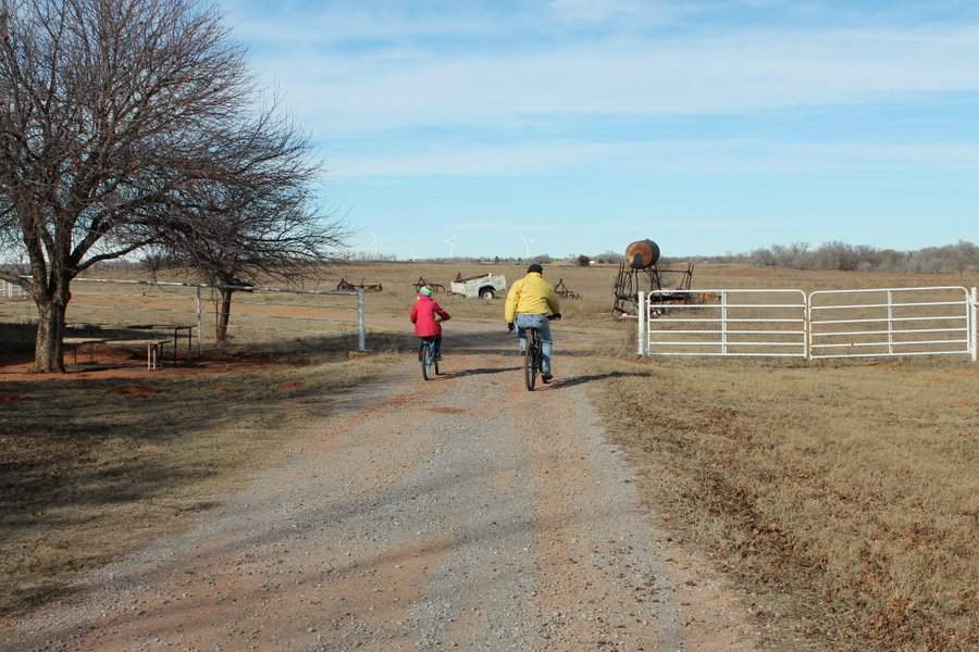 Crossing the cattle guard