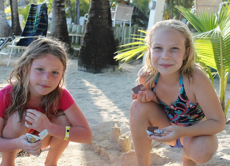 Our ''sit in sand castle''