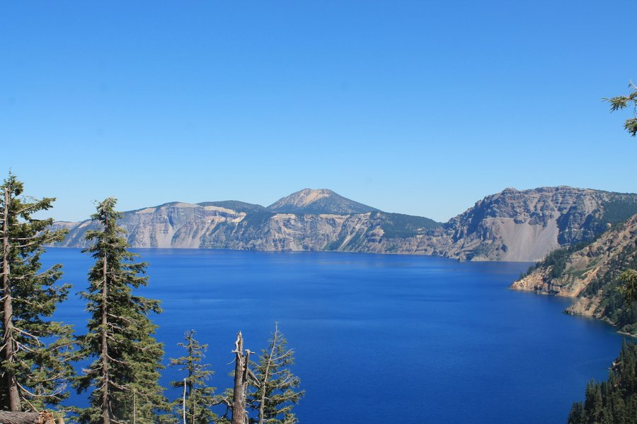 Maybe there is a paint color out there called Crater Lake Blue. It was gorgeous.