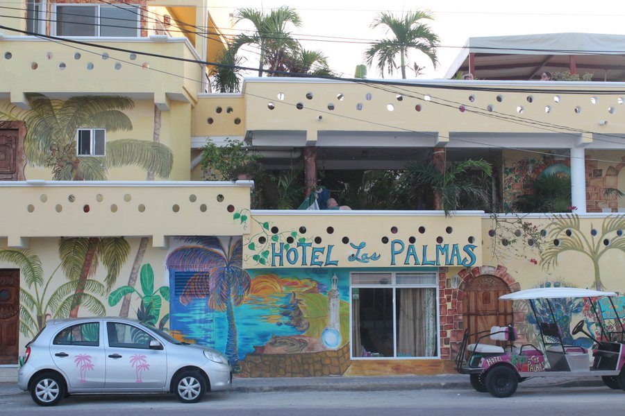 There are lots of small, colorful hotels downtown for those who don't want to stay on the North Shore resorts.